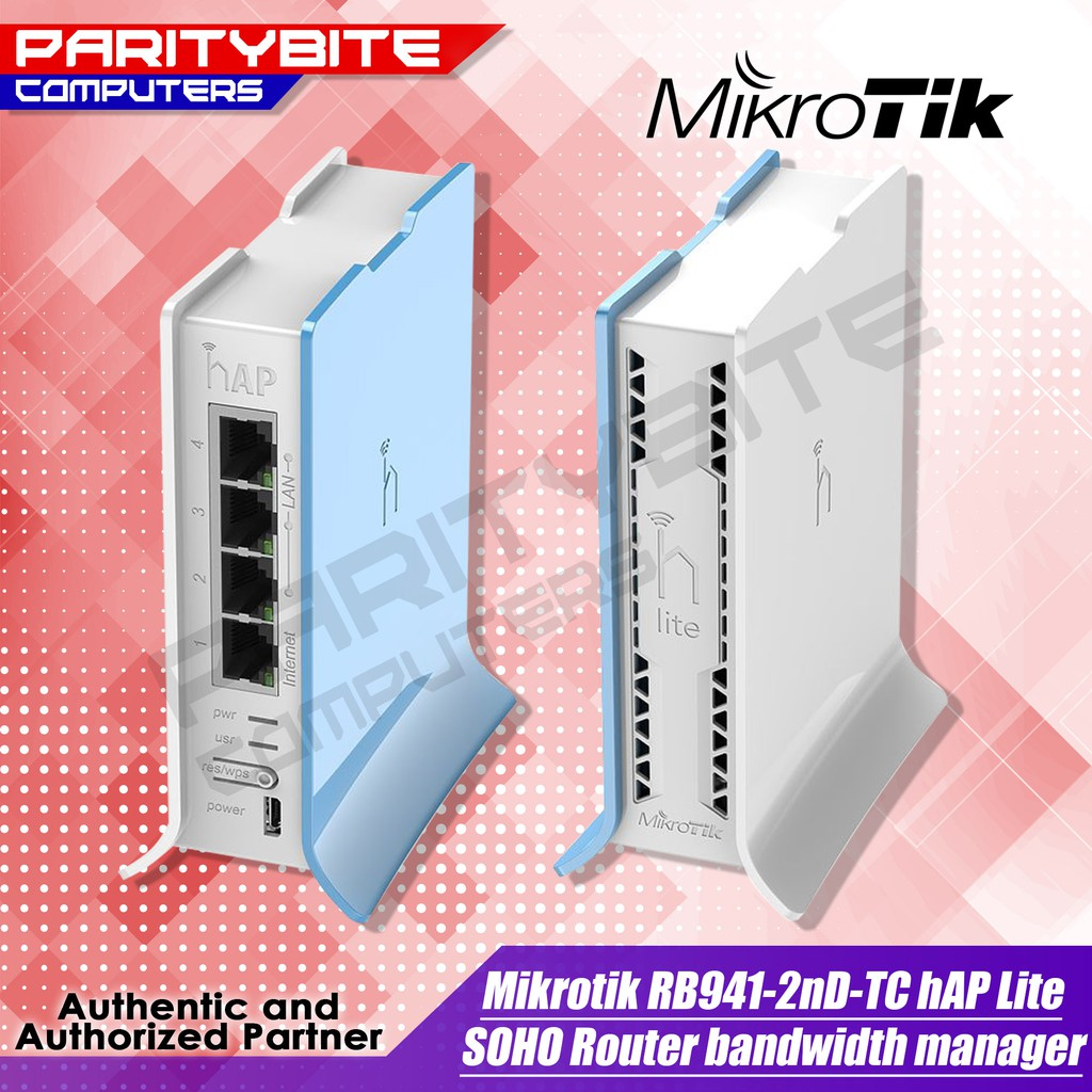 MIKROTIK RB941-2nD-TC HAP Lite SOHO Router haplite bandwidth