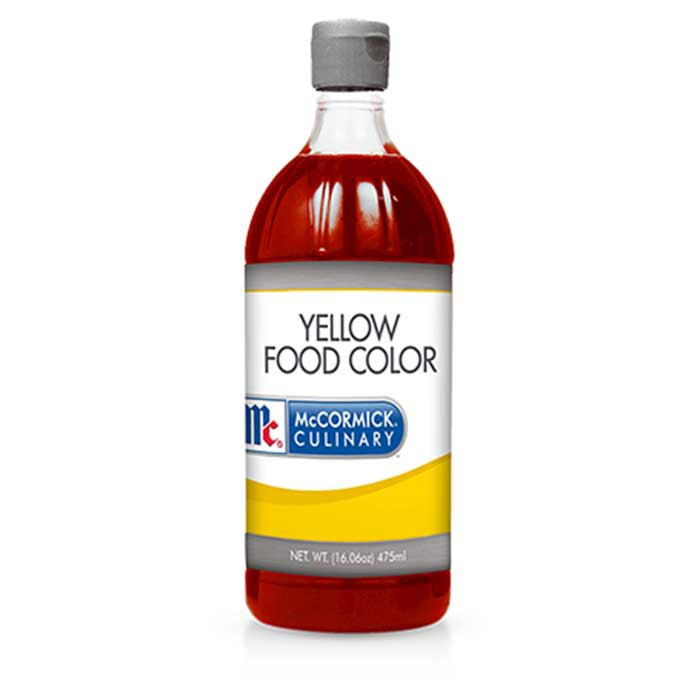 McCormick Food Coloring Yellow 16oz (475ml)