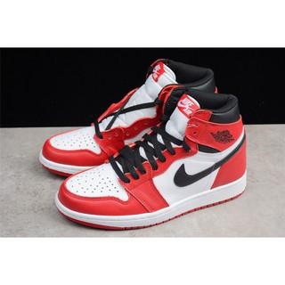 a6d1344a9cc Air Jordan 1 AJ1 first year OG white red 9 hole 332550-163 555088-101