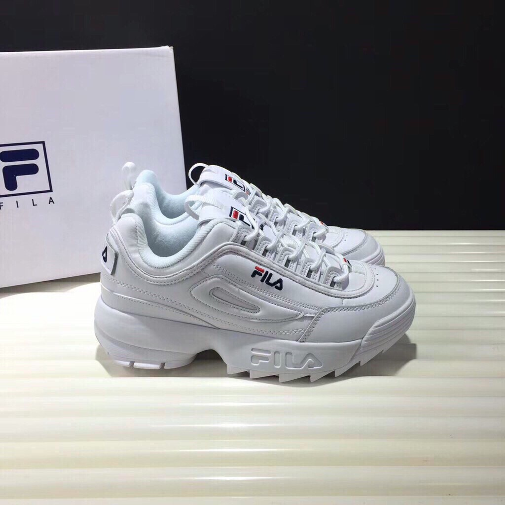 36-44 ☆ Fila disruptor 2 Generasi White ☆ Korea Women Shoes