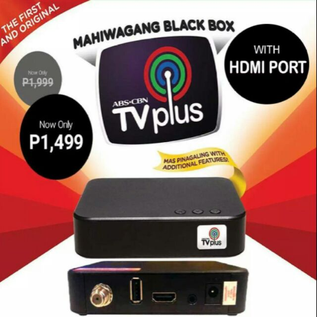 Abs Cbn Tv Plus With Hdmi Port New Version Shopee Philippines
