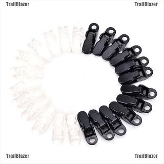 12pcs awning clamp tarp clips snap hangers tent camping survival tighten tool DS