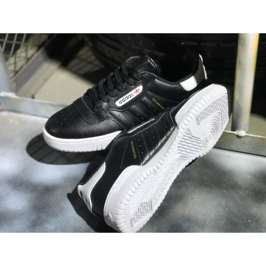f9b149d34b267 KP adidas Yeezy Powerphase kanye west calabasas balck white for men ...