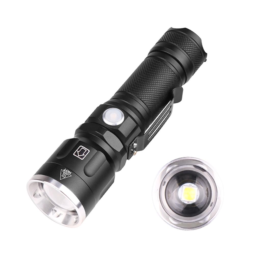 10x 8000Lumens Pocket Tactical Flashlight Torch LED Pen USB Rechargeable Light