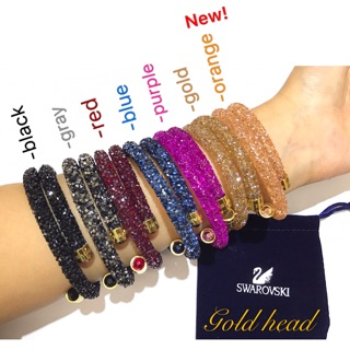 25db8561c0164 COD! Swarovski Crystaldust bracelet Crystal dust with pouch | Shopee ...