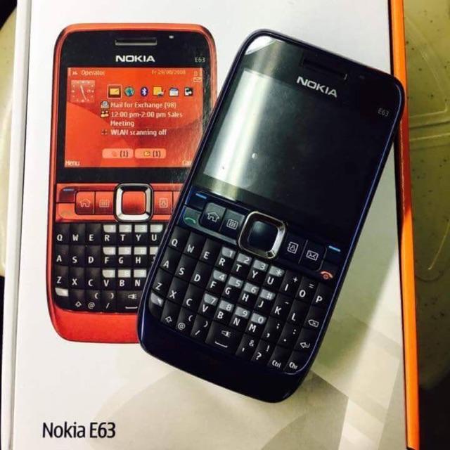 Nokia E63 Original Vintage Phones | Shopee Philippines