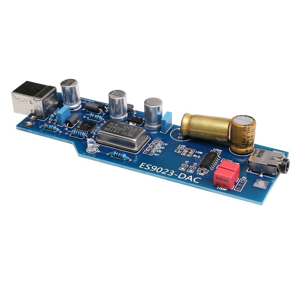 USB Sound Audio Card HiFi PCM2706+ES9023 OTG DAC Ear Decoder for Amplifier