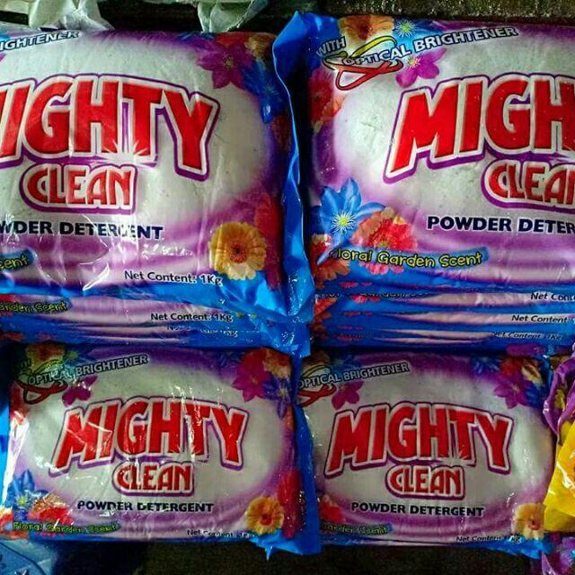 mighty clean powder detergent PER 5kilos
