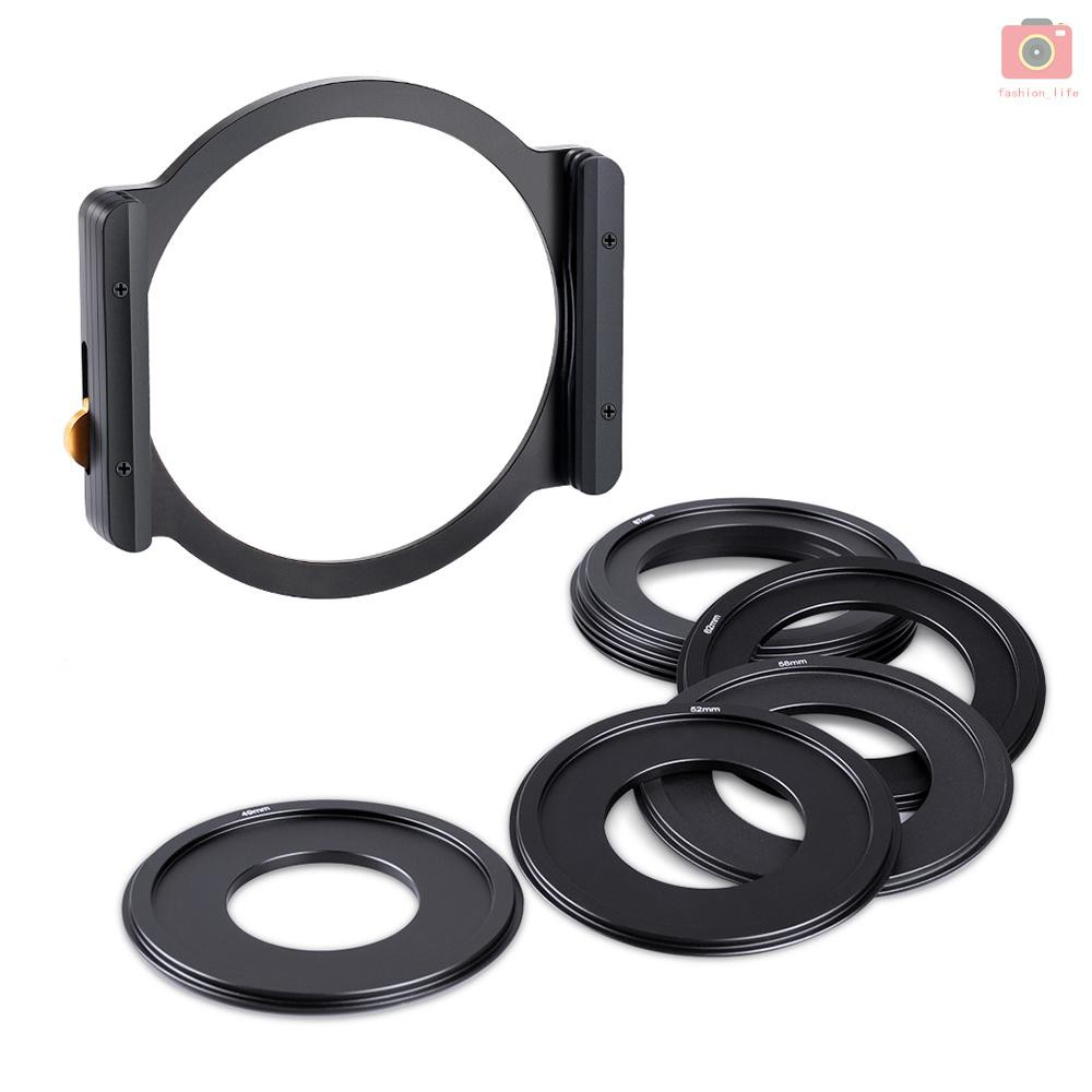 1Pcs 49mm 52mm 55mm 58mm 62mm 67mm 72mm 77mm Black Aluminum Metal Telephoto Hood for Camera Lens 62mm