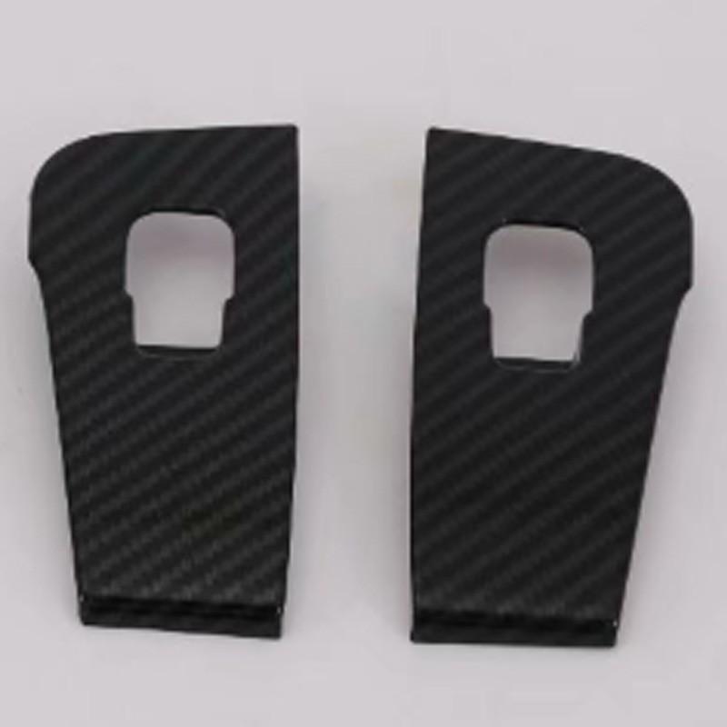 For Tesla Model 3 Window Carbon Fiber Button Switch Decoration Frame