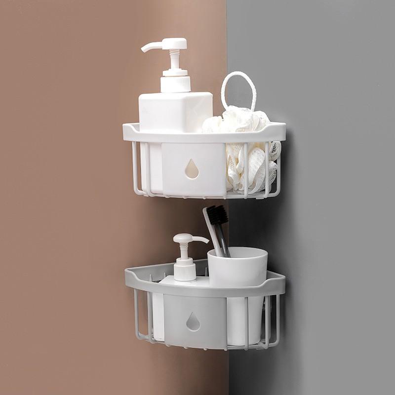 Plastic Bathroom Kitchen Corner Storage, Plastic Shelves For Bathroom