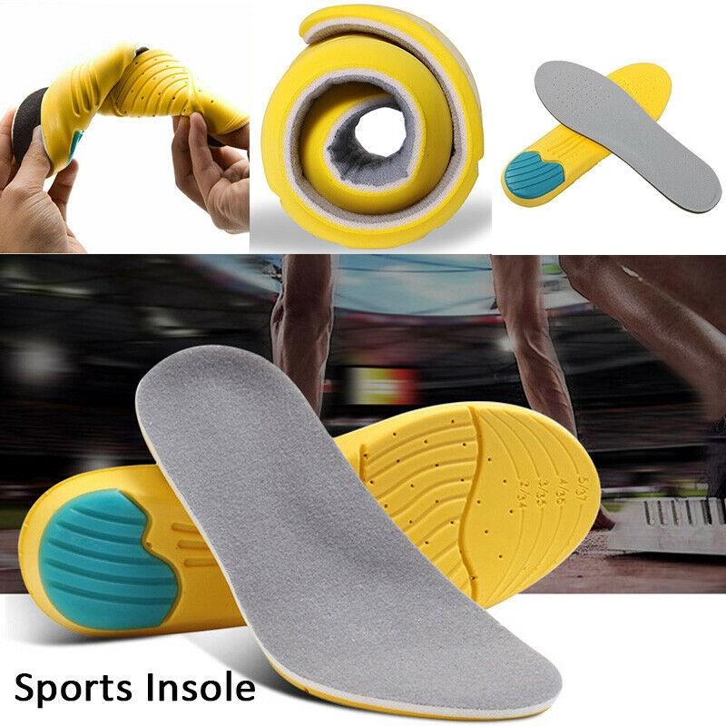 Unisex Super Memory Sponge Orthotic Arch Insert Insoles Shoe Pads Cushion