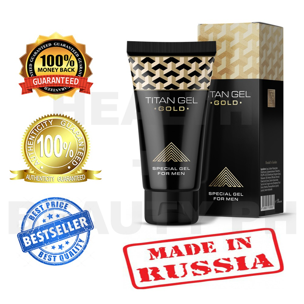 titan gel gold limited edition special gel for men 50ml shopee