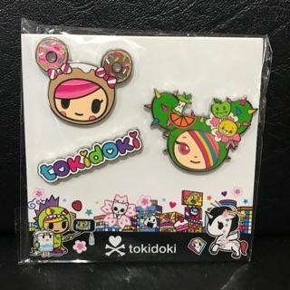 tokidoki Enamel Pin Kawaii Metropolis 3-pack