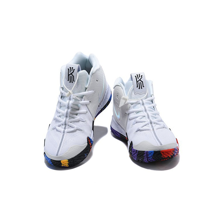 60a1e84b76e9e 2018 NCAA cod nike Kyrie 4 March Madness White Multi-Color