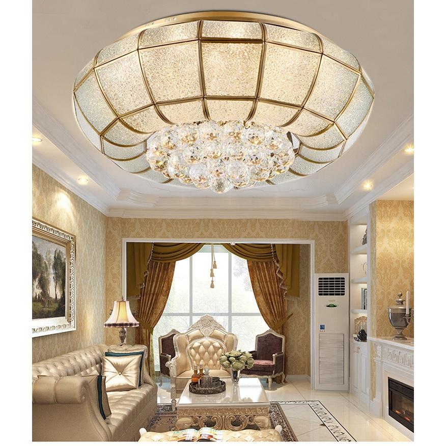 Copper Ceiling Lamp Living Room