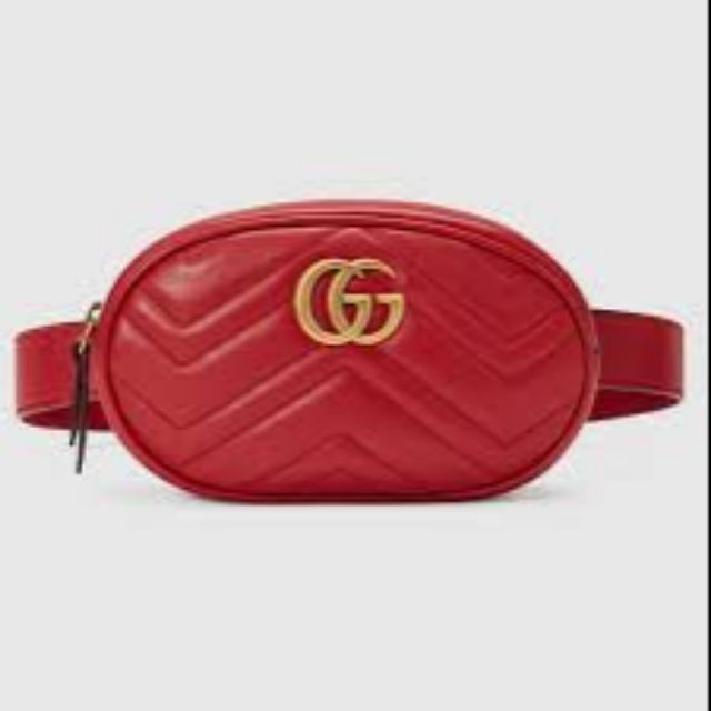 1ffb8df509d GUCCI MARMONT Belt Bag- Replica