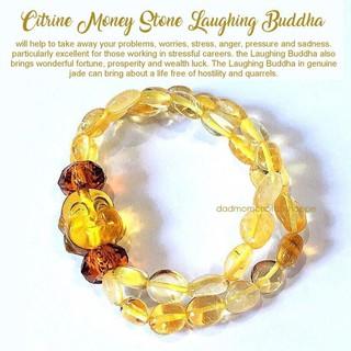 cc0bf6e99308f ... Bracelet Chinese Feng Shui Citrine Money Stone Laughing Buddha. like  1