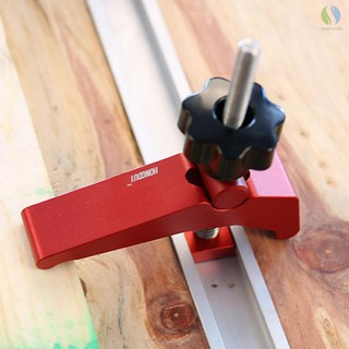DIY Woodworking Tool Carpenter Pressboard Clamp Kit for Diagonal Cutting//Notch//Joint Strong Clamping T Slot Block Clamp Slide Stopper T-Slot T-Track Clamp