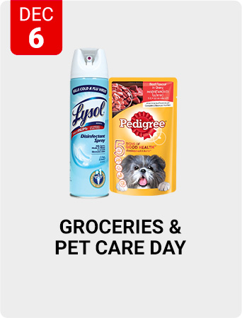 Shopee Groceries & Pet Care Day