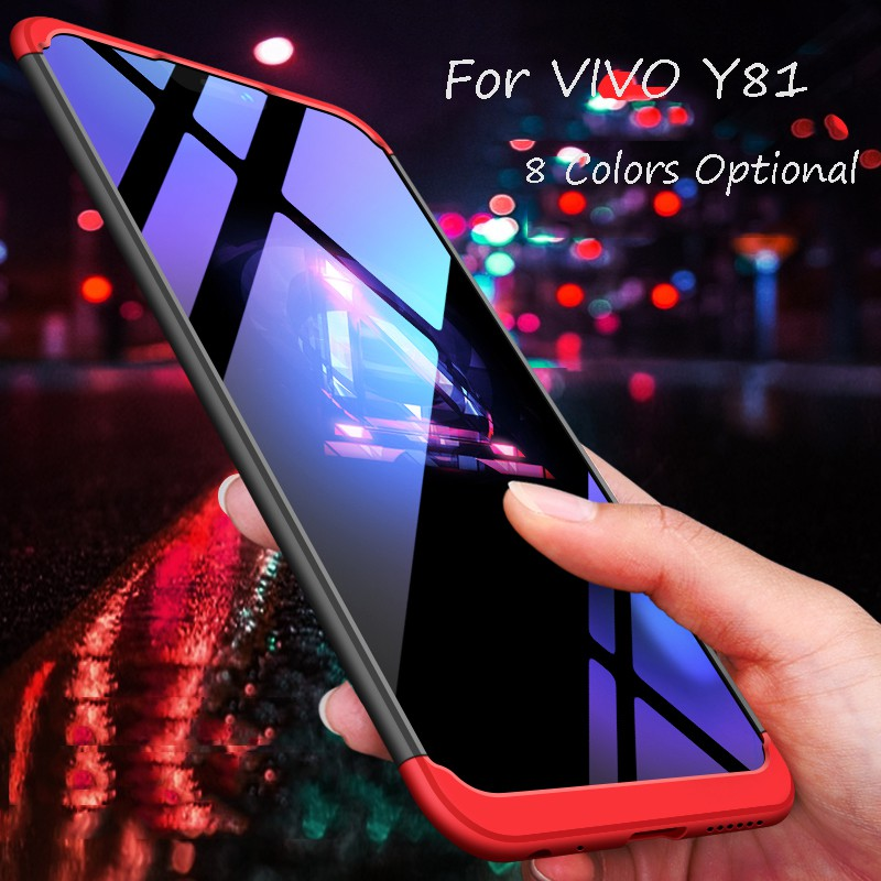 huge discount 2eafe 0c3fc For VIVO Y81 3 in 1 Combo 360° Full Protection Phone Case