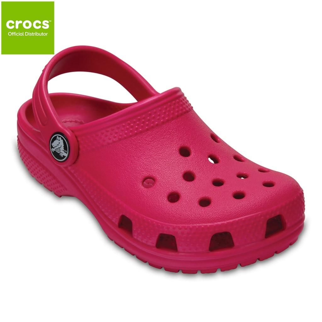 08dc1ab6d7b5b Crocs Kids Girls Classic Clog Candy Pink Size