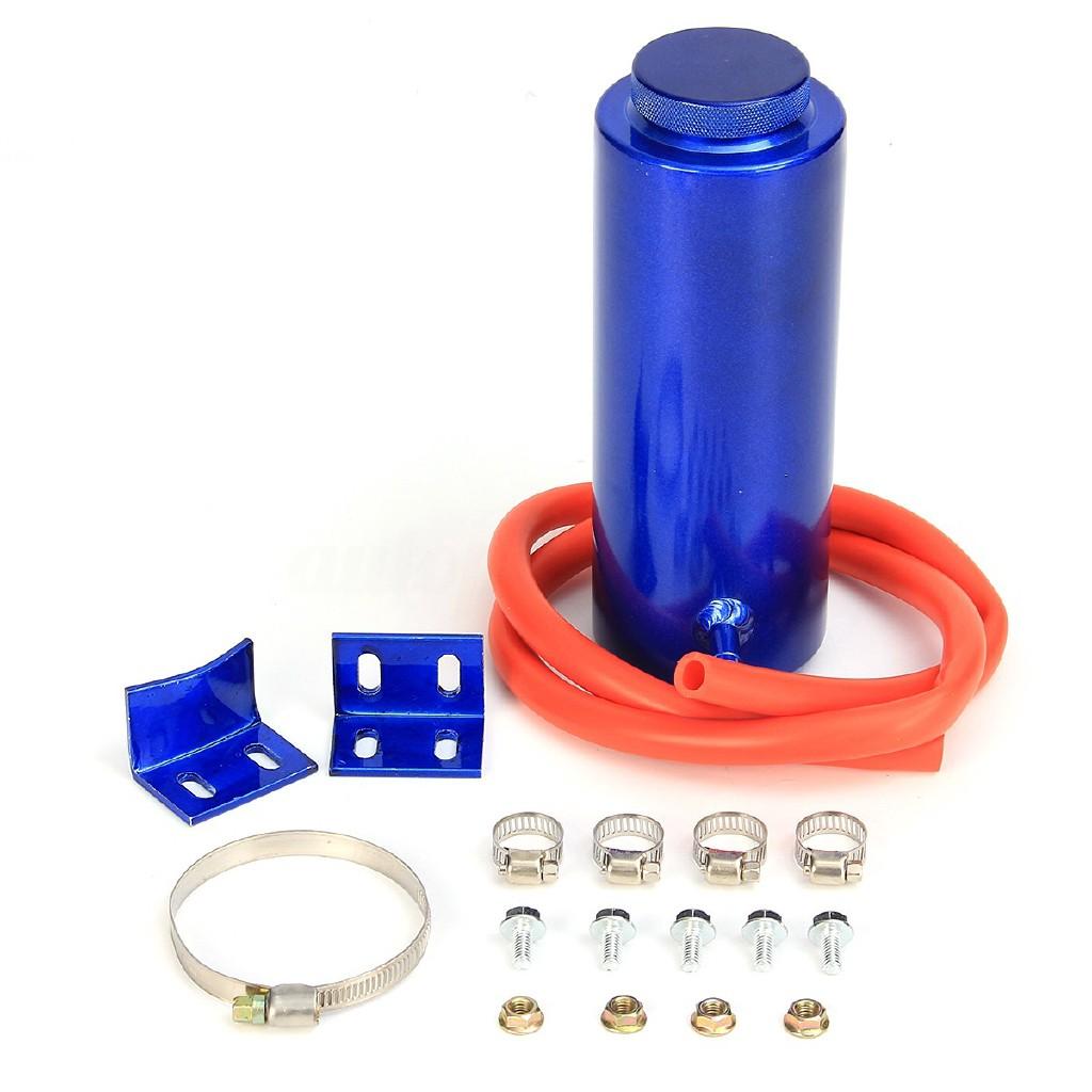 ❤❤800ml Cylinder Radiator Overflow Reservoir Coolant Tank