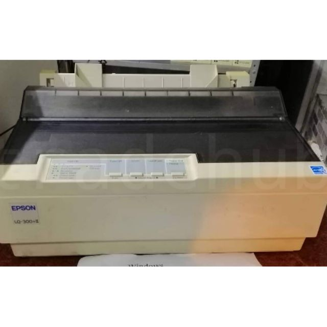 Second Hand Printer Epson LQ-300+II LQ300+II Dot Matrix