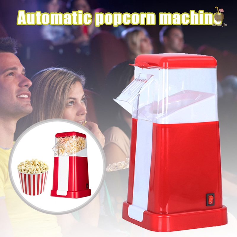 Household Automatic Electric Popcorn Machine Hot Air ...