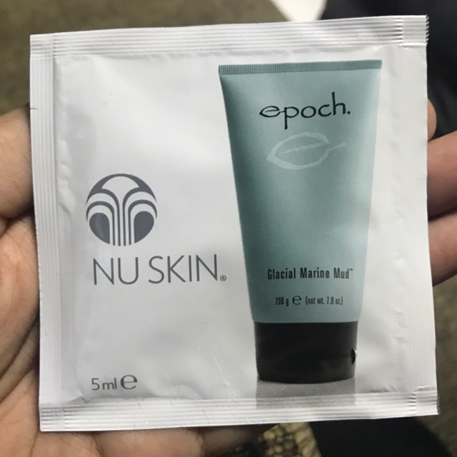 how to use nu skin marine mud mask