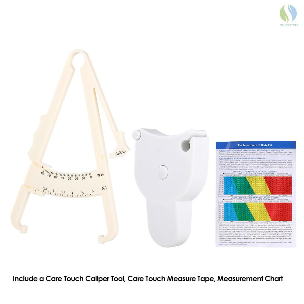 70mm Fat Body and Tester Caliper Accurate Measure Tape Keep Health Analyzer