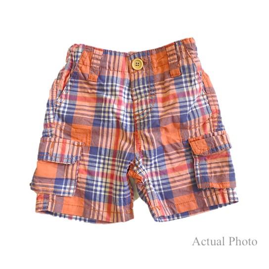 CLEARANCE SALE Zara Baby Boy Cargo Shorts - Orange ...