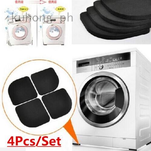 4 x Washing Machine Kitchen Appliance Anti Vibration Feet Rubber Protector Pads