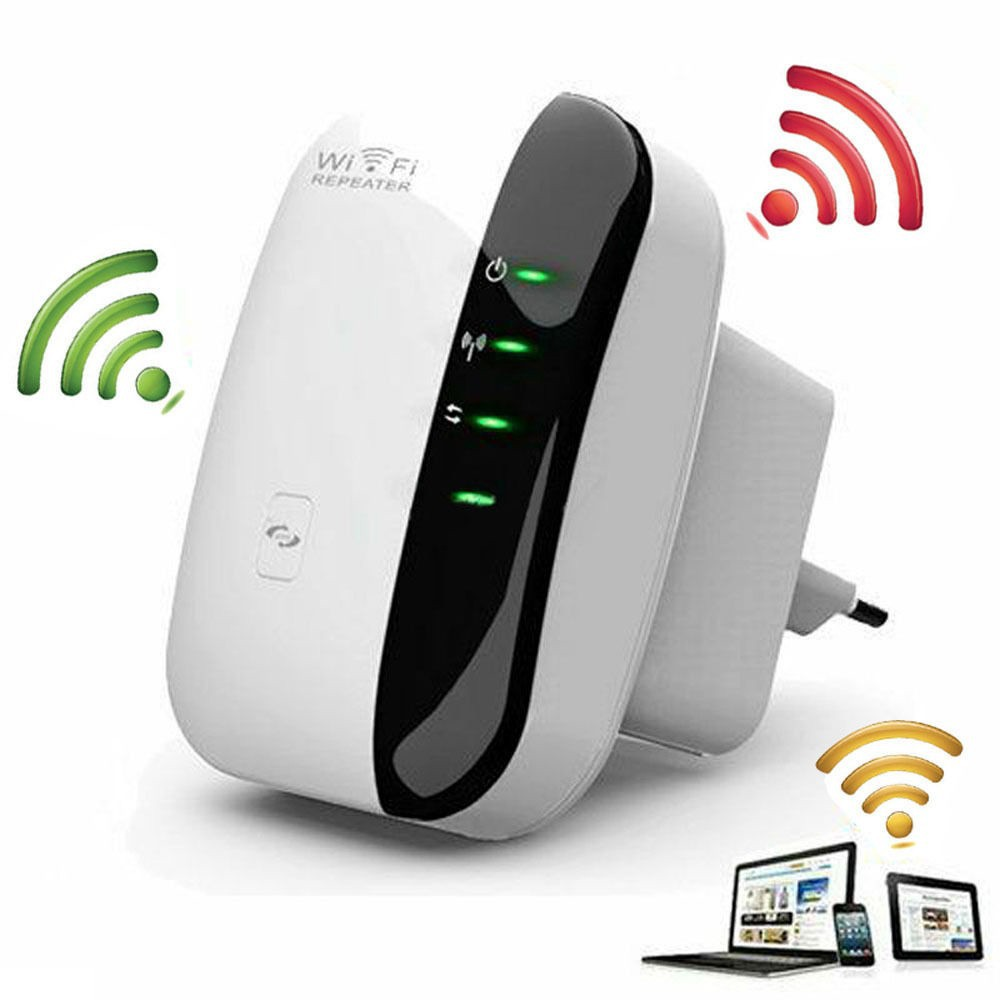 300Mbps Wireless-N Wifi Network Routers Signal Booster