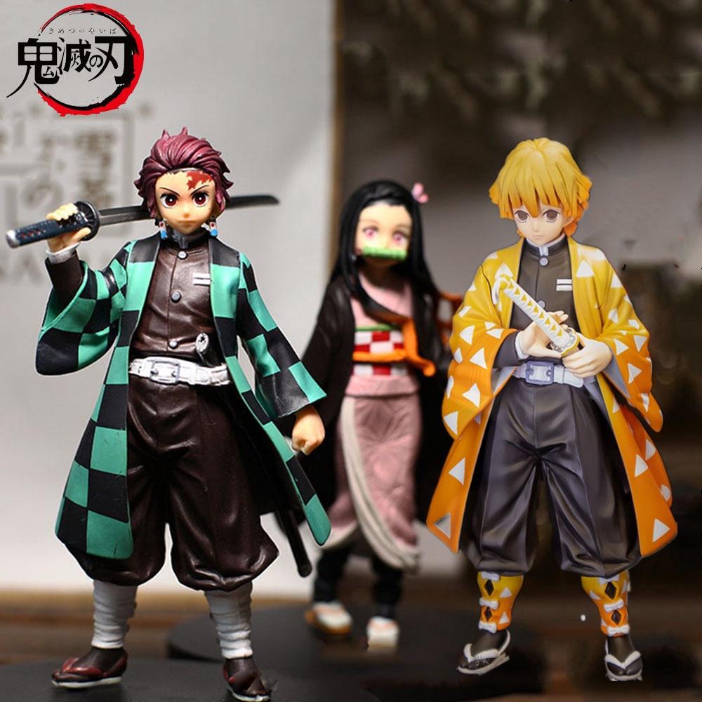 Kimetsu no Yaiba Kamado Tanjirou 20cm Action Figure Jouet Anime Demon Slayer