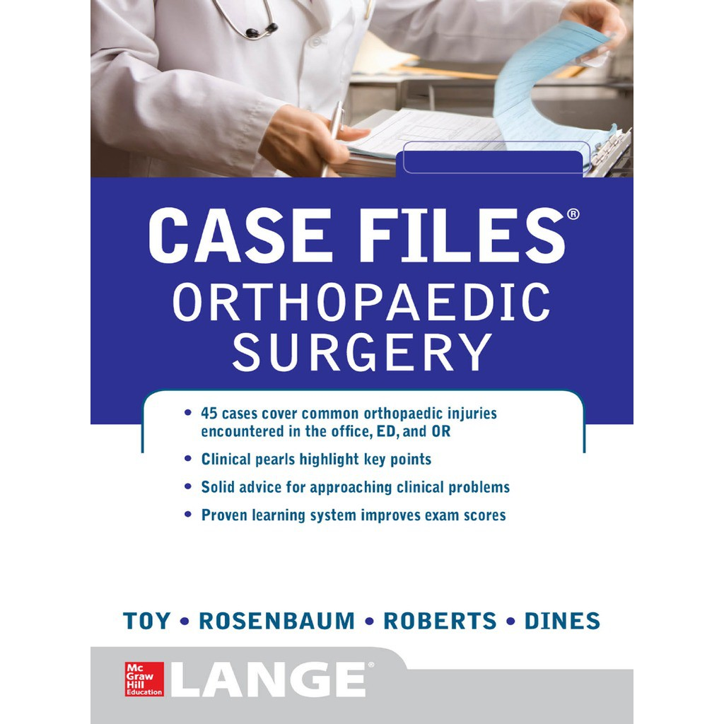 Case Files Orthopaedic Surgery Medical Books Reprint   Shopee ...