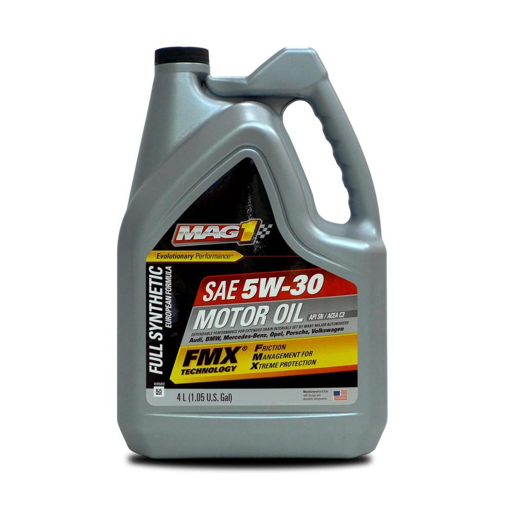 Full Synthetic Oil >> Mag 1 5w30 European Formula Full Synthetic Oil 4l 63280