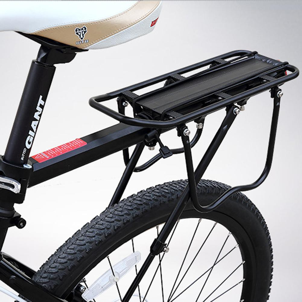 Cycling Bicycle Rear Seat Luggage Shelf Mountain Bike Alloy Frame Carrier Holder