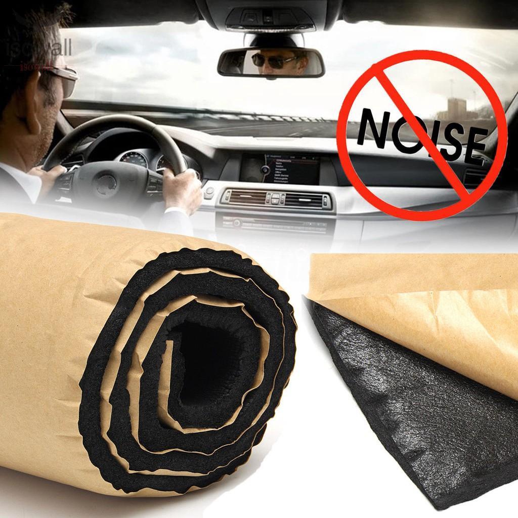 12 pcs Self Adhesive Cell Foam Car Sound Proofing Deadener Insulation 50*30cm