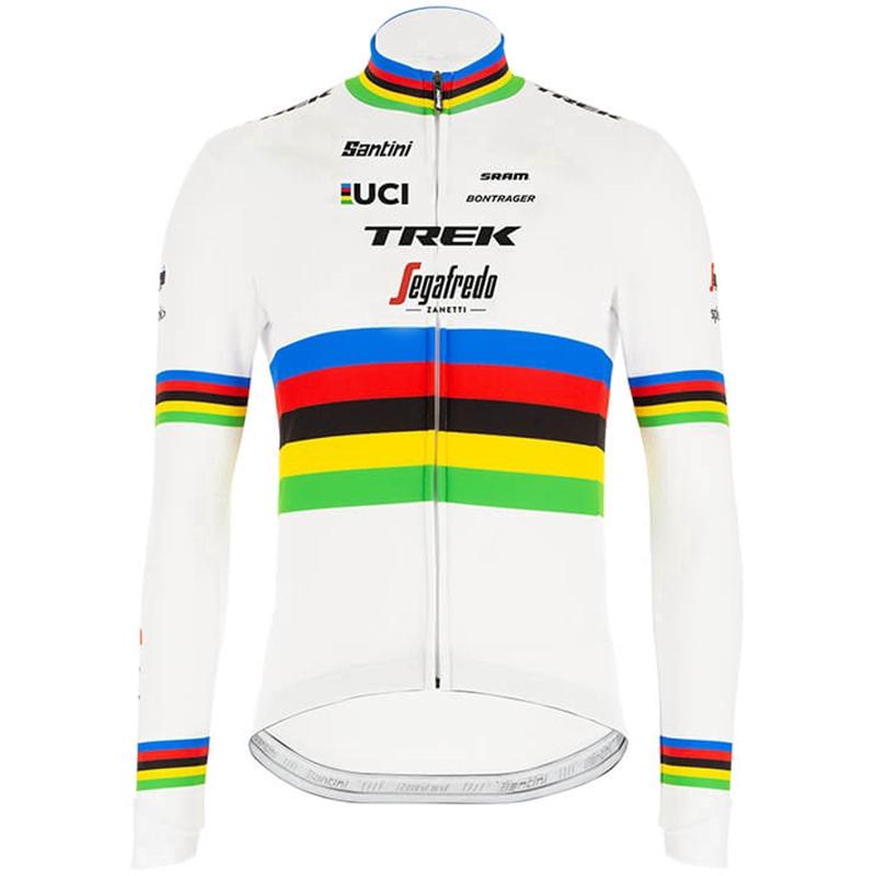 Cycling Jersey Long Sleeve For Men MTB Road Bike Bontrager Jackets Full Zip