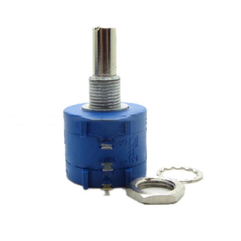 2PCS 3590S 2 102L 1K Ohm Precision Rotary Wirewound Potentiometer Pot 10 Turn MO