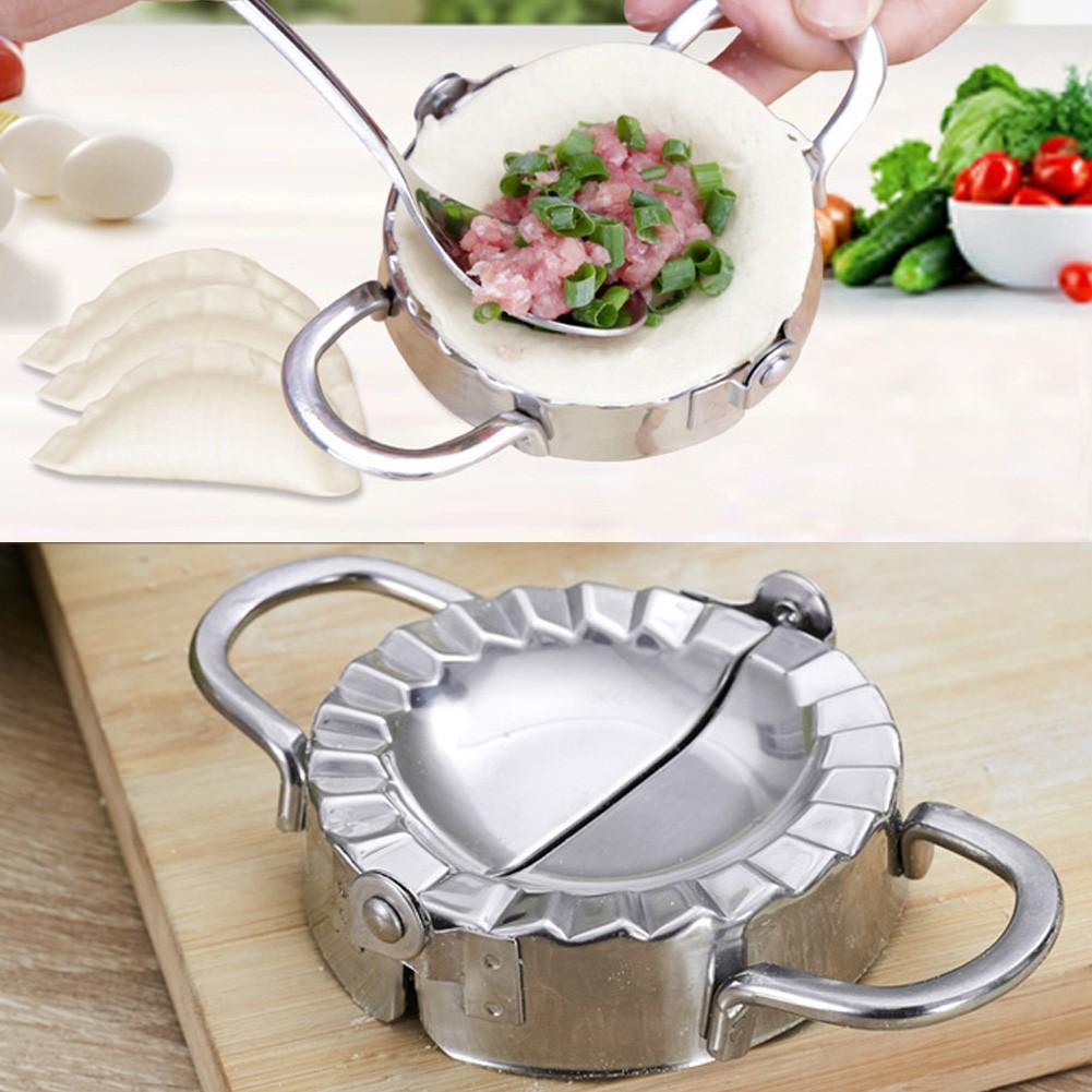 Stainless Steel Eco-Friendly Pastry Tool Dumpling Maker Wraper Dough Cutter Kit.