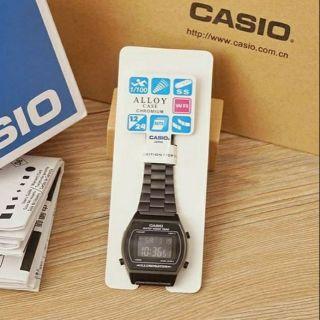 Casio vintage OEM black rosegold Silver watch Steven Chen
