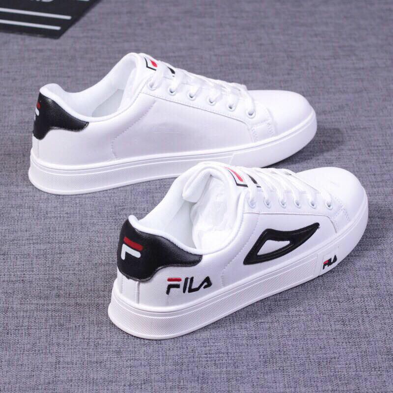 Fila Shoes Korean Sneakers Casual Shoes Low Cut For UNISEX