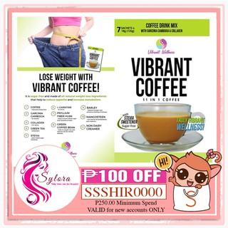 COD! Vibrant Coffee 7 Sachets | Shopee Philippines