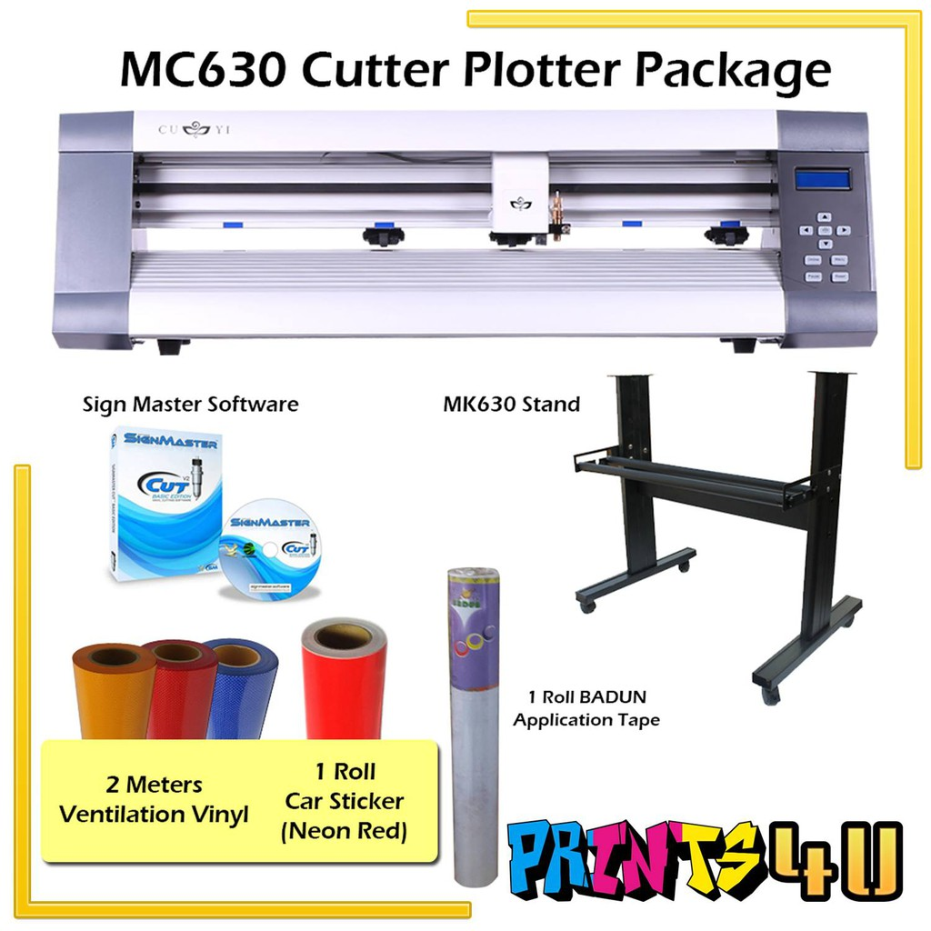MC630 CUTTER PLOTTER PACKAGE 24INCHES (2FEET)