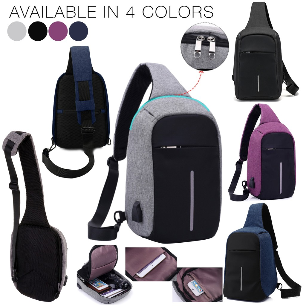 6d398c0574b3 Anti Theft Cross Body Bag Men's Messenger Shoulder Body Bag