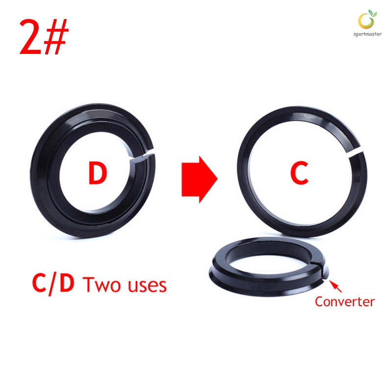 """Bike 1-1//8/"""" Front Fork /& 1.5/"""" Tapered Tube Headsets Crown Race Cycling Component"""