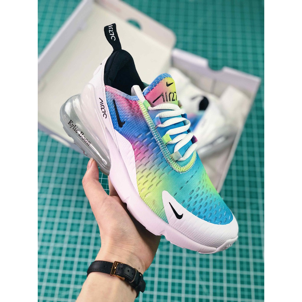 """9949a6d385 Nike Air Max 270 """"Be True"""" Multi-Color Unisex   Shopee Philippines"""