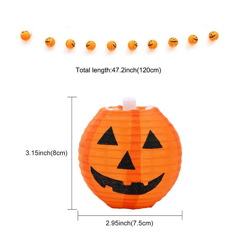 """3 x 47/"""" 120cm Halloween Spooky Hanging Pumpkin Ghost Indoor Outdoor Decoration"""